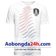 Áo bóng đá Hàn Quốc sân khách World Cup 2018 - 2019