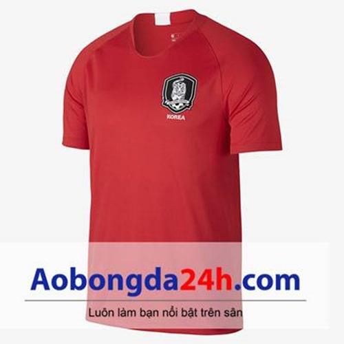 Áo đội tuyển Hàn Quốc World Cup 2018 đỏ tại Aobongda24h
