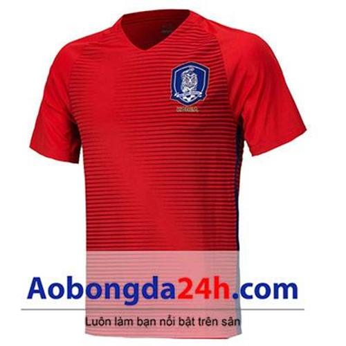 Áo đá banh Hàn Quốc 2016-2017 sân nhà màu đỏ