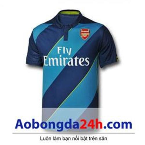 Áo Arsenal 2014 - 2015 Training màu xanh đen