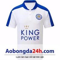 Áo Leicester City 2015-2016 trắng sân nhà