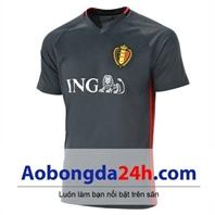Áo tuyển Bỉ 2016 - 2017 mẫu thứ 3 màu đen