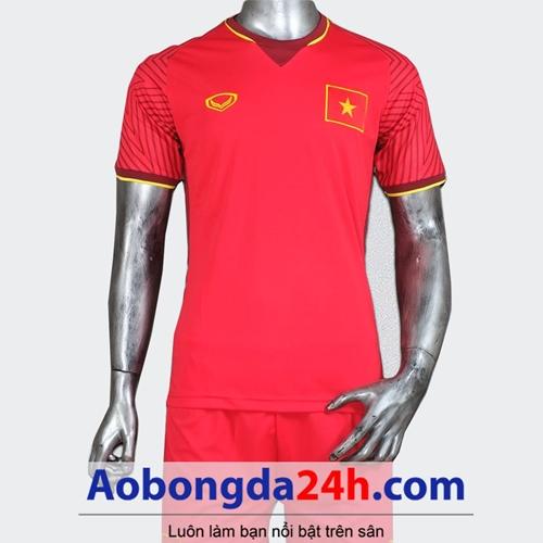 Áo Việt Nam 2018 - 2019 sân nhà màu đỏ