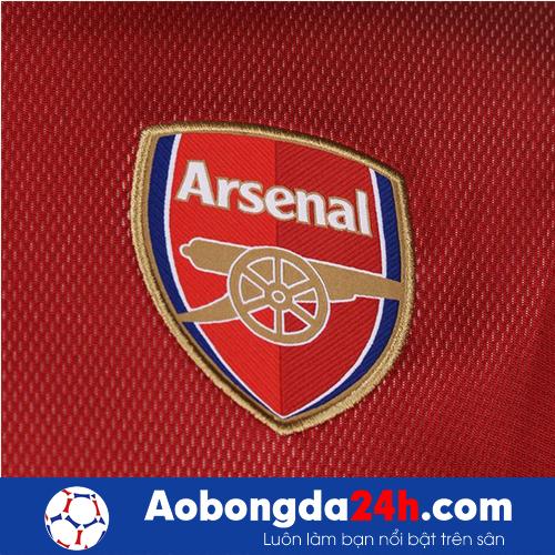 Áo Training Arsenal 2017 màu đỏ xám