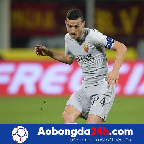Áo Roma 2018-2019 sân khách màu xám