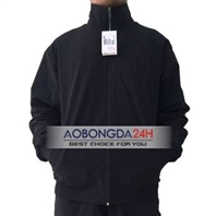 Bộ áo gió thể thao cao cấp đen (Mẫu 03)