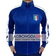 Áo Khoác thể thao Tuyển Ý 2014-2015 Xanh (Mẫu 3)