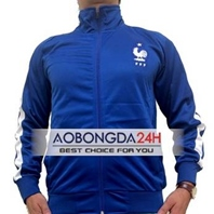 Áo Khoác bóng đá Tuyển Pháp 2014 - 2015 Xanh (Mẫu 3)