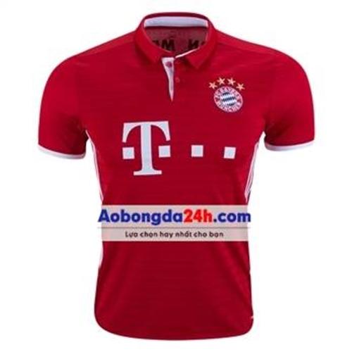 Áo thể thao Bayern Munich 2016-2017 sân nhà đỏ