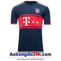 Áo Bayern Munich 2017-2018 mẫu thứ 3 màu xanh tím than