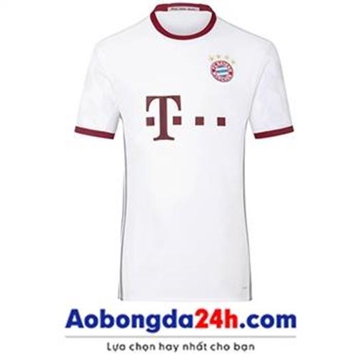 Áo Bayern Munich 2016-2017 mẫu thứ 3 trắng