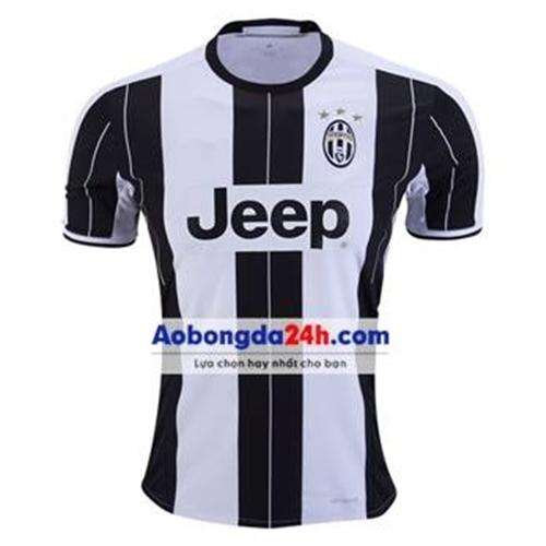 Áo CLB Juventus 2016-2017 sân nhà sọc đen