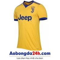 Áo đấu Juventus 2017-2018 sân khách màu vàng