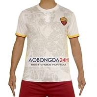 Áo bóng đá As Roma 2015-2016 sân khách trắng