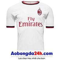 Áo đấu câu lạc bộ Ac Milan 2017-2018 sân khách trắng