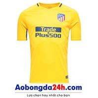 Áo bóng đá Atlentico Madrid 2017-2018 sân khách