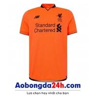 Áo CLB Liverpool 2017-2018 mẫu thứ 3 màu cam