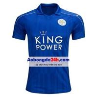 Áo câu lạc bộ Leicester City 2017 sân nhà màu xanh