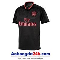 Áo Arsenal 2017-2018 mẫu thứ 3 màu đen