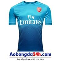 Áo Arsenal mùa giải 2017-2018 sân khách màu xanh dương