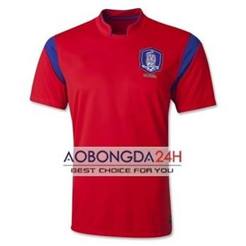 Áo đội tuyển Hàn Quốc 2014 đỏ sân nhà màu đỏ