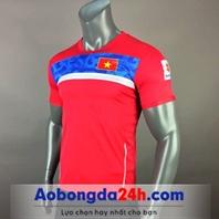 Áo đội tuyển Việt Nam Trainning 2018 màu đỏ
