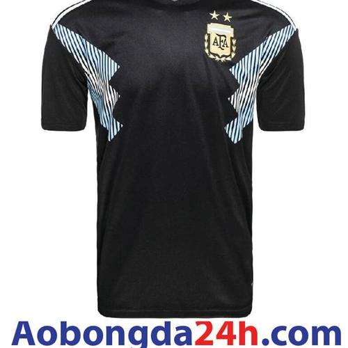 Áo đá bóng Argentina đen World Cup 2018 - 2019