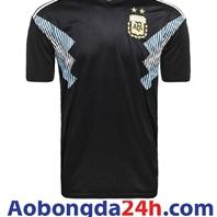 Áo bóng đá Argentina World cup 2018 sân khách đen
