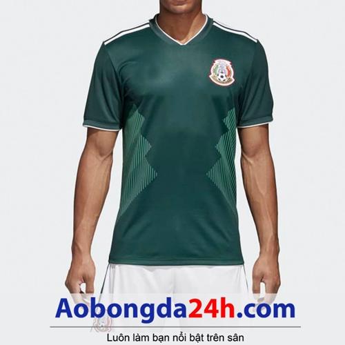 Áo Mexico World Cup 2018 - 2019 sân nhà