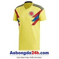 Áo Colombia World Cup 2018 - 2019 sân nhà màu vàng