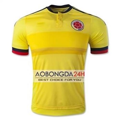Áo bóng đá Colombia 2017 - 2018 sân nhà màu vàng