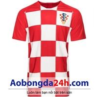 Áo Croatia World Cup 2018 - 2019 sân nhà đỏ trắng