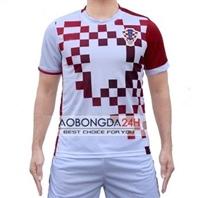 Áo Croatia 2017 - 2018 sân nhà màu trắng