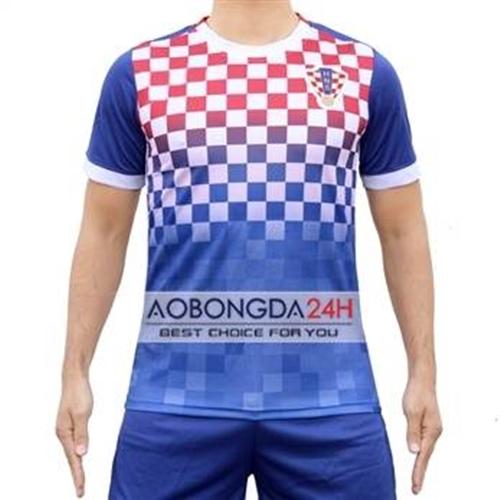 Áo đội tuyển Croatia 2016 - 2017 sân khách