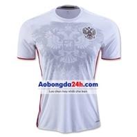 Áo đội tuyển Nga Euro 2016 sân khách màu trắng