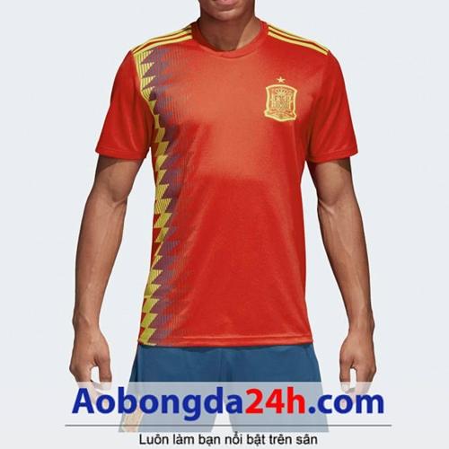 Áo Tây Ban Nha World Cup 2018 - 2019 sân nhà