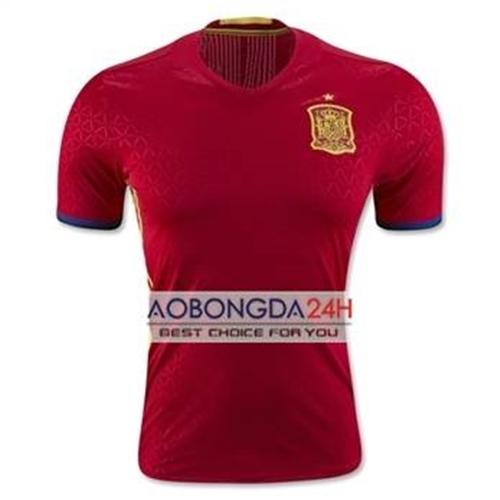 Áo Tây Ban Nha 2017 màu đỏ Sân nhà