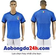 Áo đội tuyển Ý World Cup 2018 màu Xanh sân nhà