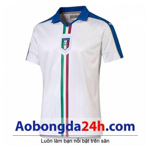 Áo Italia Euro 2016 màu trắng sân khách