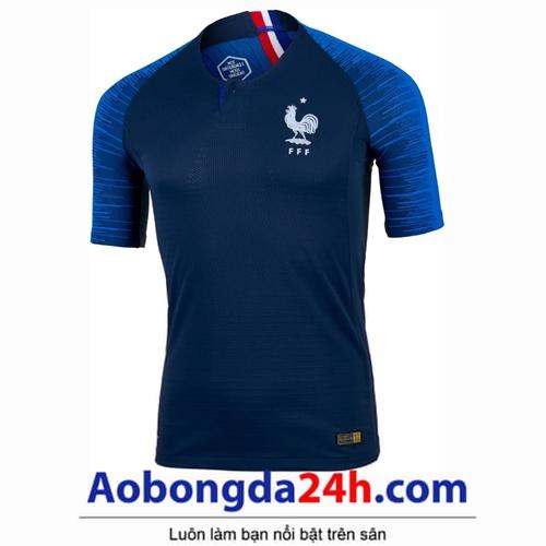Áo Pháp xanh sân nhà World Cup 2018 - 2019