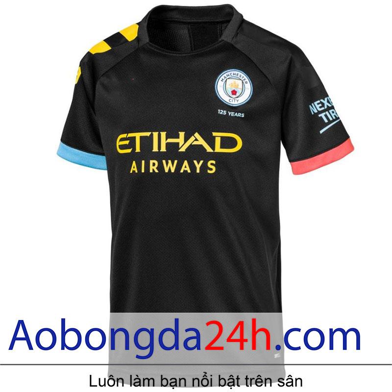 Áo bóng đá Manchester City 2019-2020 sân khách
