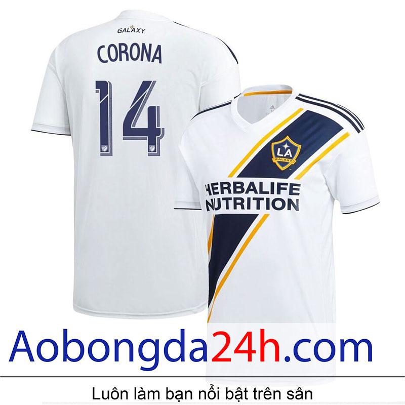 Áo bóng đá LA Galaxy 2019-2020 sân nhà màu trắng