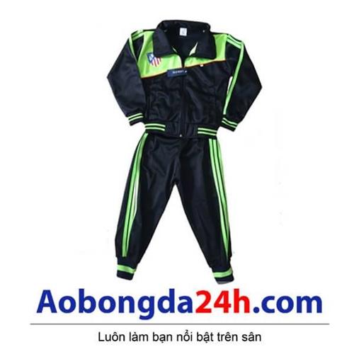 Bộ áo khoác bóng đá trẻ em Atlentico Madrid (Mẫu 01)