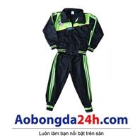Quần áo khoác bóng đá trẻ em dài tay Atlentico Madrid (Mẫu 01)