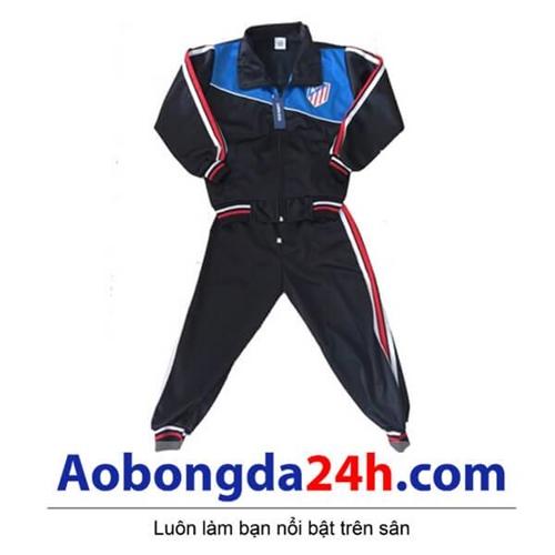 Bộ áo khoác đá banh trẻ em Atlentico Madrid (Mẫu 02)