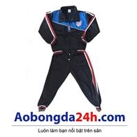 Quần áo khoác bóng đá trẻ em dài tay Atlentico Madrid (Mẫu 02)