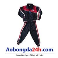 Quần áo khoác bóng đá trẻ em dài tay Atlentico Madrid (Mẫu 03)