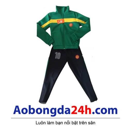 Bộ áo khoác bóng đá trẻ em Manchester United (Mẫu 01)