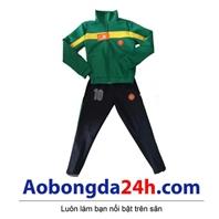 Quần áo khoác bóng đá trẻ em dài tay Manchester United (Mẫu 01)