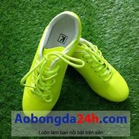 Giày đá bóng KL xanh nõn chuối mẫu 03